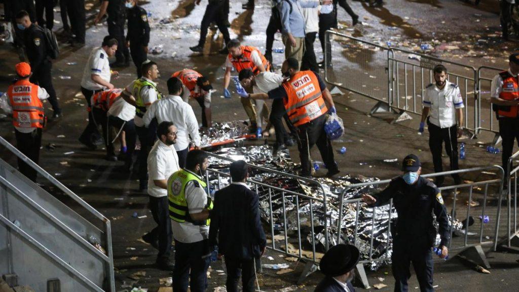 Al menos 38 muertos y decenas de heridos en Israel por estampida en importante festividad religiosa