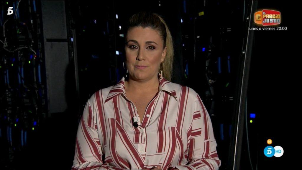 """Carlota Corredera responde al pedido de Rocío Flores por la parte eliminada del documental: """"La verás en privado"""""""