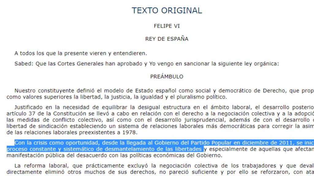 """Casado anuncia que traerá a la Constitución los """"delitos"""" del Gobierno contra el PP en el BOE"""