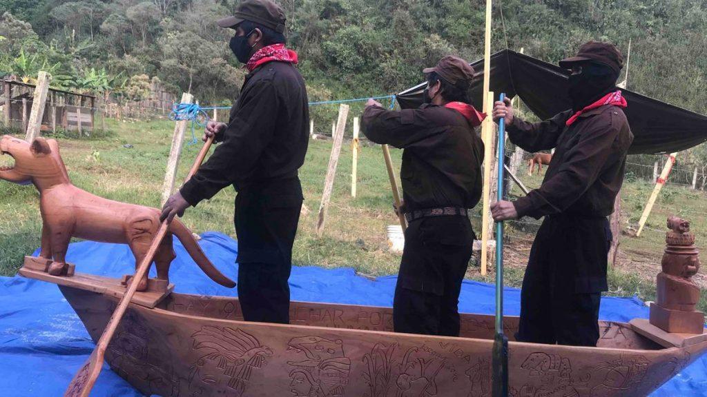 EZLN: La conquista al revés: los zapatistas inician su andadura en Europa