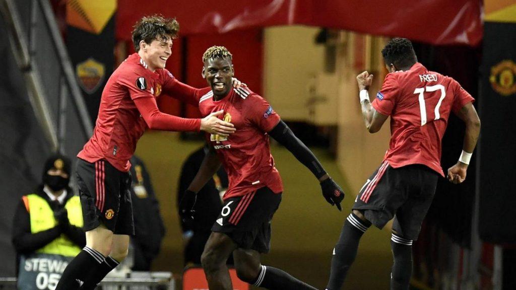 El Manchester United venció a la Roma y se encaminó a la final de la Europa League