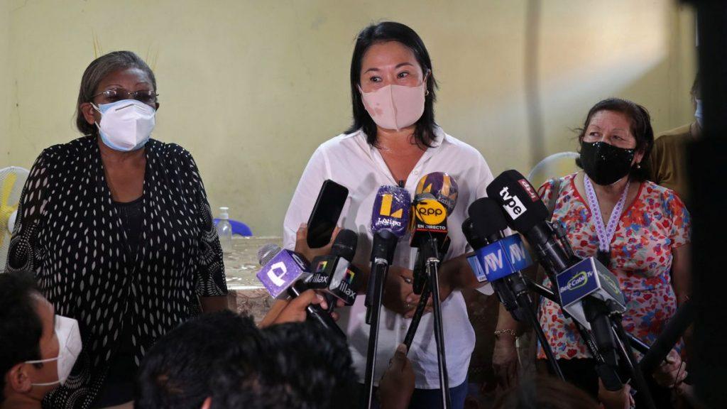 Elecciones peruanas: La derecha cierra filas con Fujimori ante el avance de Castillo en las urnas en Perú |  Internacional