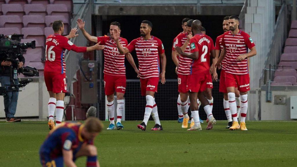Granada sorprende al FC Barcelona, arruina las opciones de liderazgo azulgrana