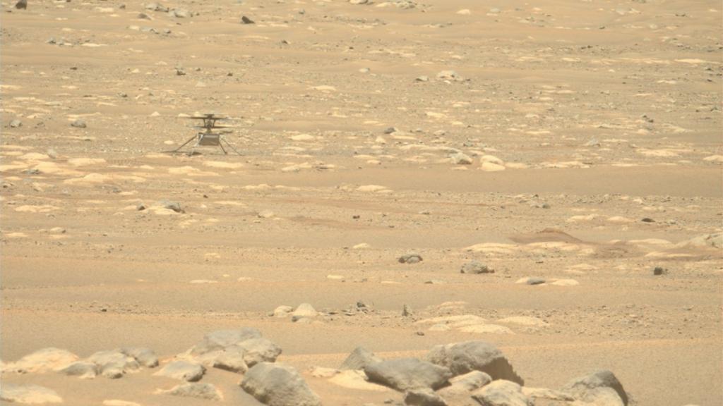 La NASA pospone el cuarto vuelo de Ingenuity a Marte