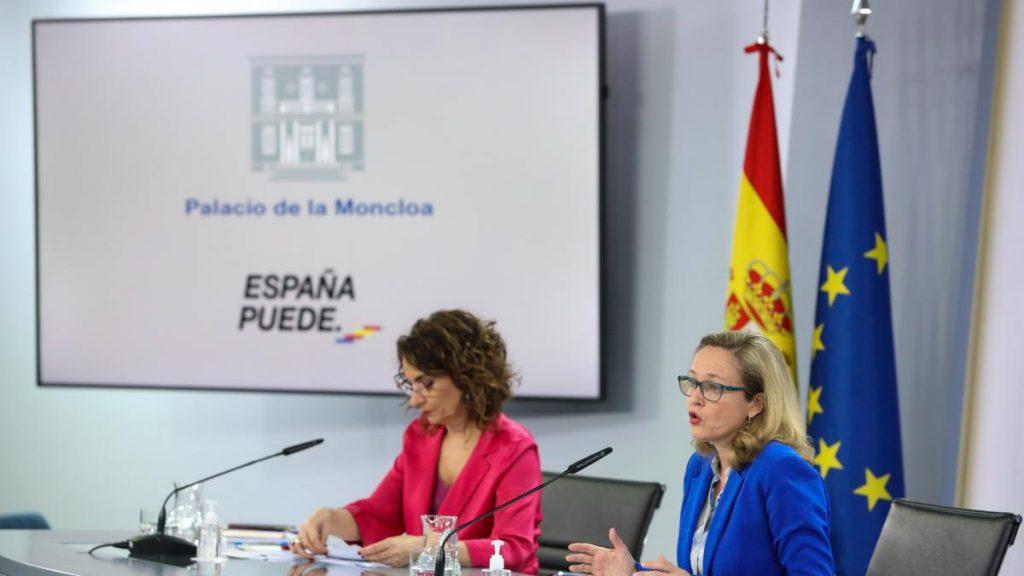 La economía española se contrajo un 0,5% en el primer trimestre por el impacto de la tercera ola de la pandemia