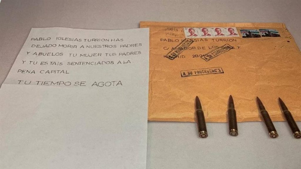 Localizan buzones en Barcelona y Madrid donde se han dejado cartas a Ayuso e Iglesias