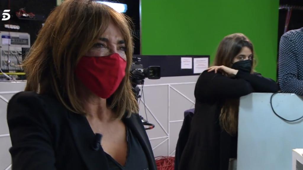 """María Patiño abandona, entre lágrimas, el rodaje de 'Sálvame' tras meterse con Belén Esteban: """"lo siento"""""""