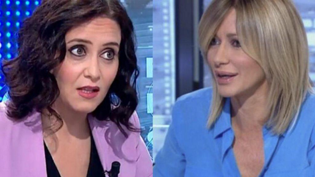 """Susanna Griso culpa a Ayuso por los serios comentarios que hace sobre Pablo Iglesias: """"No te sigas a ti mismo"""""""