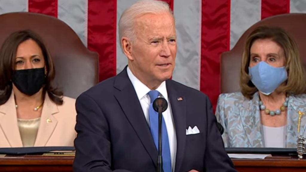 Vea en vivo el primer discurso de Biden ante el Congreso de los Estados Unidos