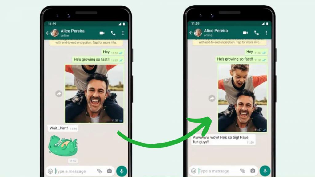 WhatsApp anuncia fotos más grandes en su aplicación