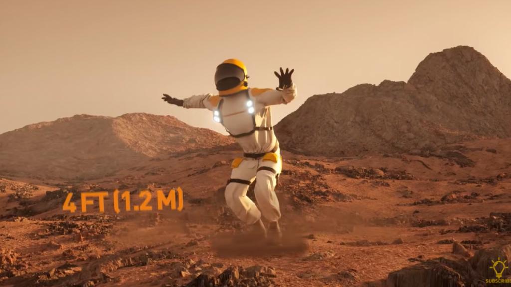 ¿Qué tan lejos irías si saltaras sobre los planetas y lunas del sistema solar?