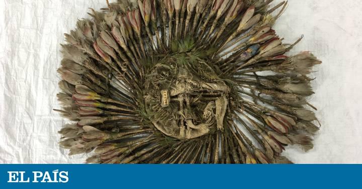 ¿Tesoro mesoamericano o falsificación?  Los enigmas del penacho de Cuauhtémoc |  Blog La serpiente emplumada