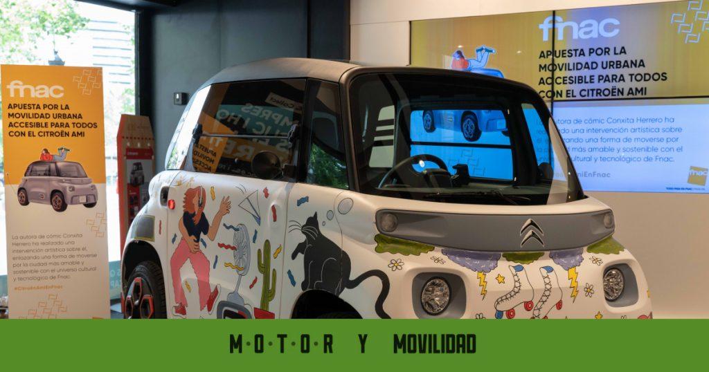 Ahora puede agregar un Citroën Ami a la lista de compras ... ¡de Fnac!