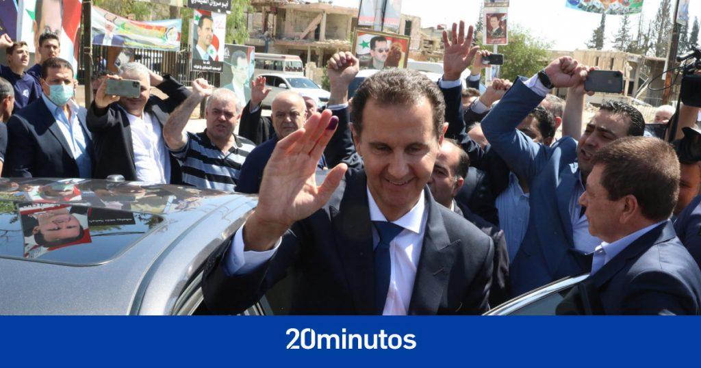Al Assad reelegido para un cuarto mandato en Siria con el 95% de los votos
