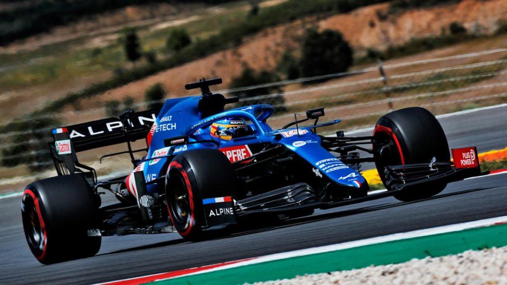 Alonso saldrá desde una decepcionante decimotercera posición en Portimao y Bottas dejará a Hamilton sin la pole 100