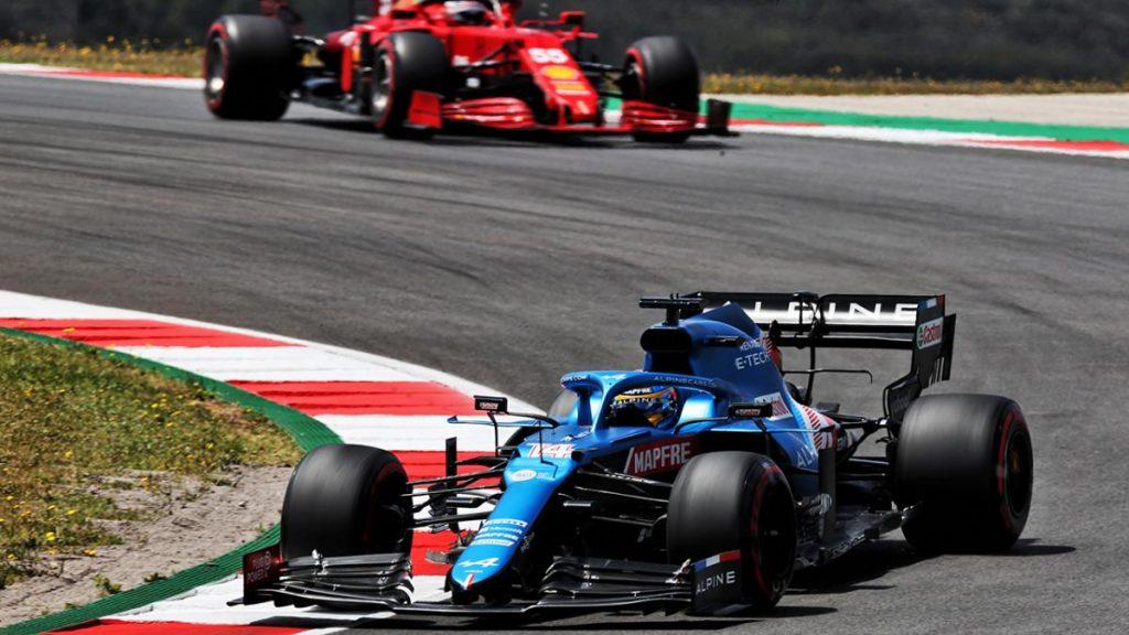 Así regresó Fernando Alonso del 13 al 8, festival de adelantamientos en el GP de Portugal