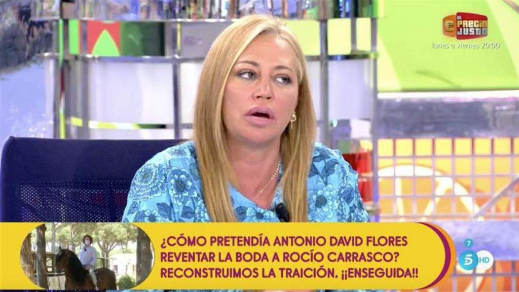 Belén Esteban revela en 'Sálvame' que Jesulín de Ubrique se ha reencontrado con Julia y Andrea Janeiro
