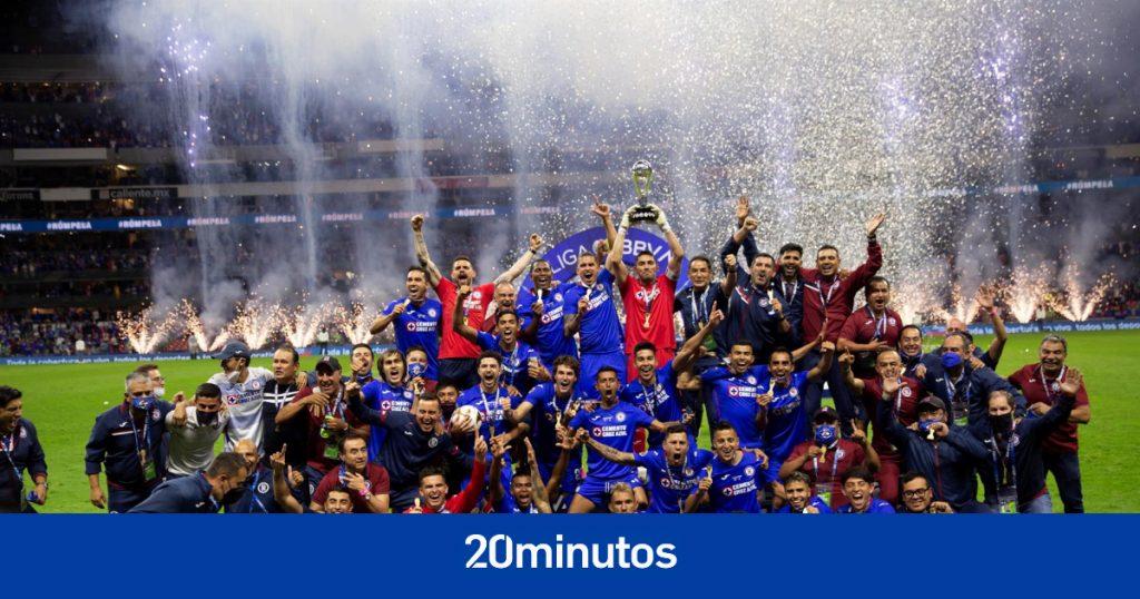 Cruz Azul conquista el campeonato mexicano a 23 años de su último título