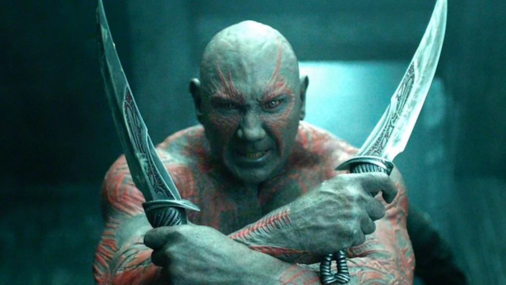 Dave Bautista dejará de ser Drax después de 'Guardianes de la Galaxia Vol.3'