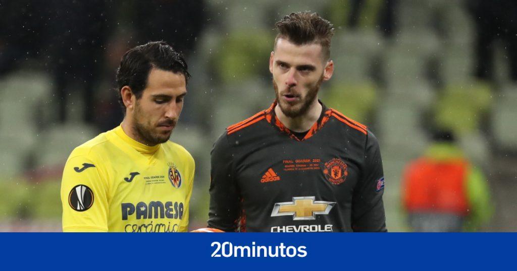 David de Gea dispuso de penaltis ante el Villarreal ... que no le sirvió de nada