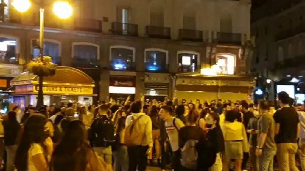 """El Madrid intensificará la vigilancia en San Isidro para evitar """"actividades irresponsables"""" como este sábado"""