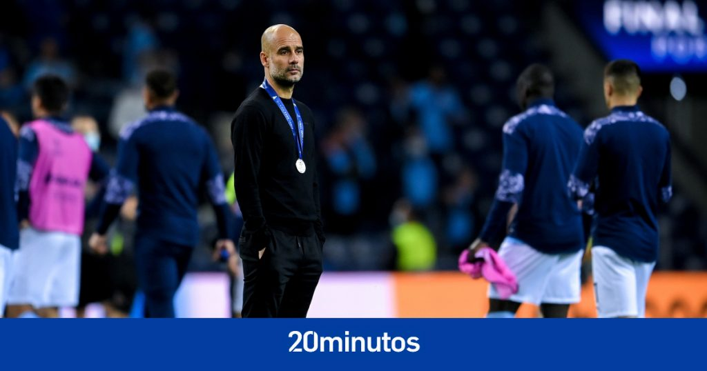 El elogiado gesto de Guardiola tras ganar la medalla de finalista de la Champions