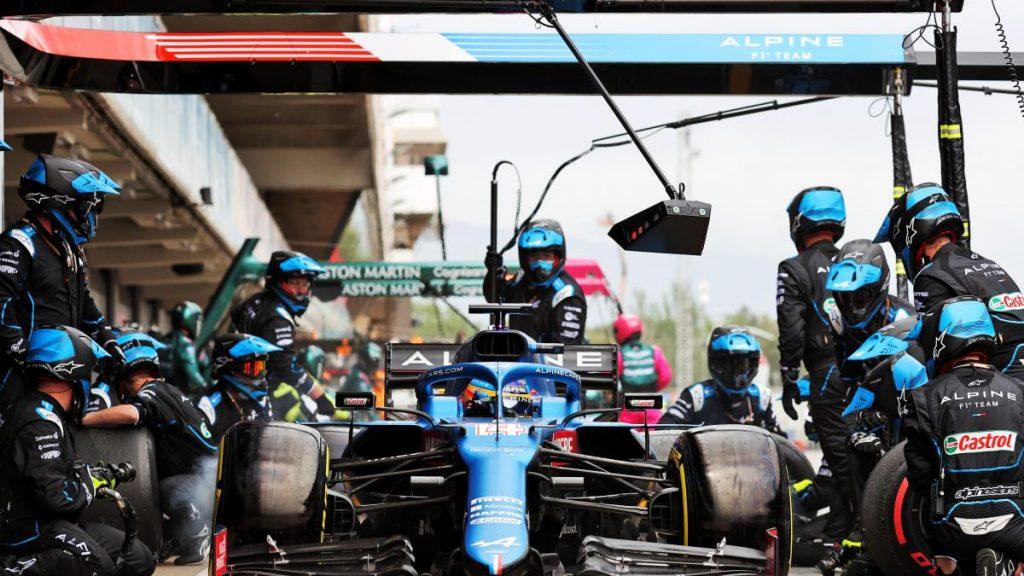 El talón de Aquiles de Fernando Alonso en su regreso a la Fórmula 1 se exhibe en el GP de España