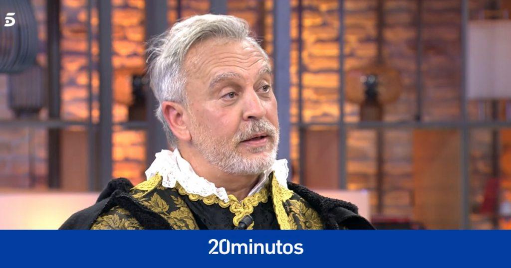 Enrique del Pozo vuelve a la televisión y nombra a Antonio David como culpable de su destitución