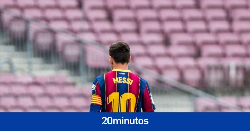 Entorno de Messi enfurecido por la filtración de la insólita oferta de renovación del Barcelona