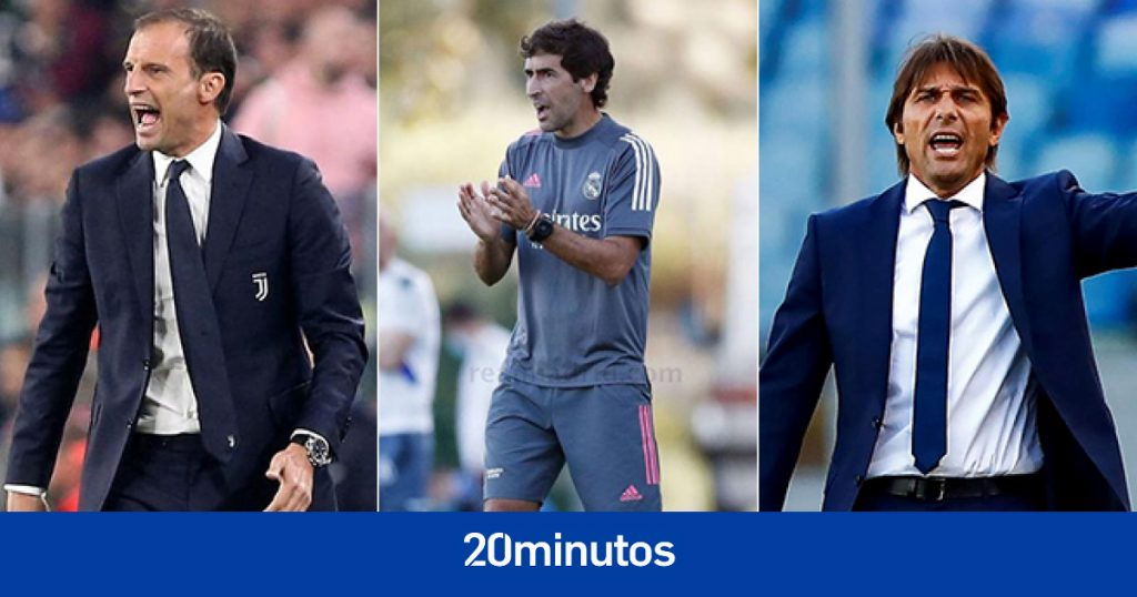 Es la lucha por sustituir a Zidane en el Real Madrid: Allegri, Raúl, Conte ...