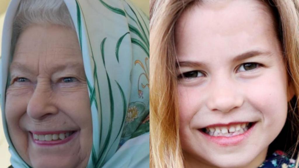 Foto de la princesa Charlotte que muestra que cada día se parece más a su bisabuela, la reina Isabel II