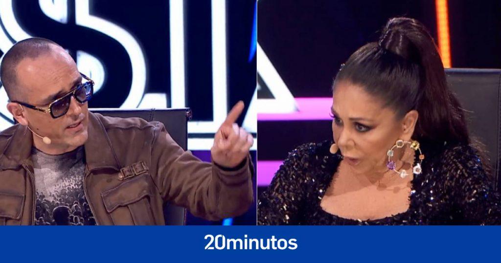 """Isabel Pantoja se enfrenta a una persona del público y Risto se detiene: """"Hay que respetar"""""""