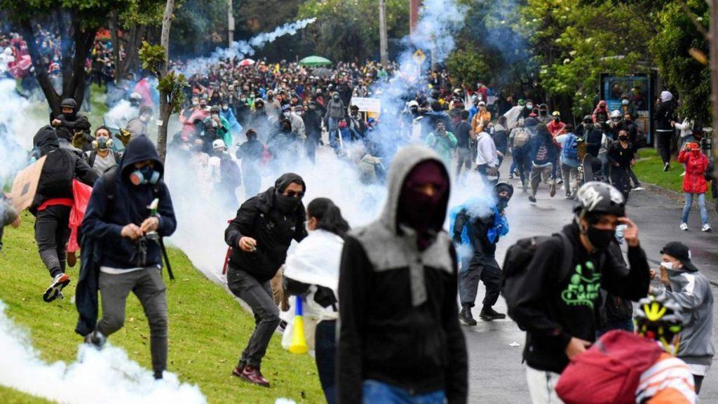 Iván Duque: El paro nacional que derrocó al gobierno colombiano |  Opinión