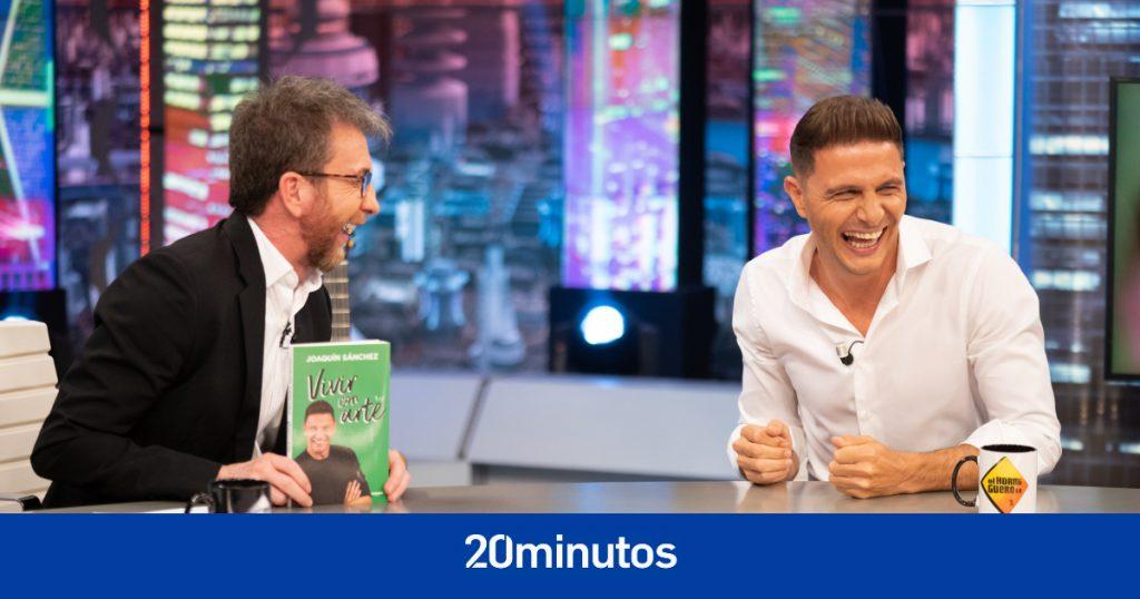 Joaquín le confiesa a el Hormiguero cómo Florentino Pérez y Raúl intentaron ficharle por el Real Madrid ... en el baño