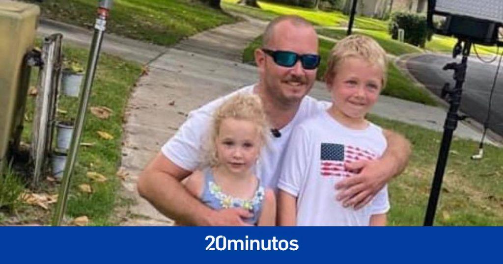 La heroica hazaña de Chase, el niño de 7 años que salvó a su padre y a su hermana después de nadar durante una hora