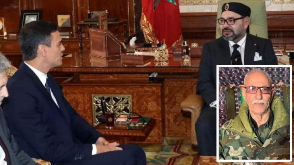 La presencia del líder del Polisario deja casi rotas las relaciones entre España y Marruecos