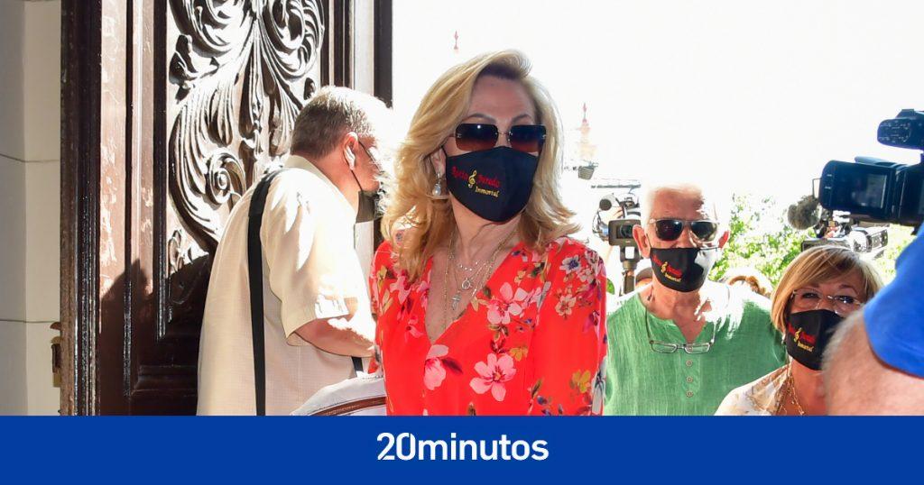 La zasca de Rosa Benito a Carmen Borrego por sus críticas en el homenaje a Rocío Jurado