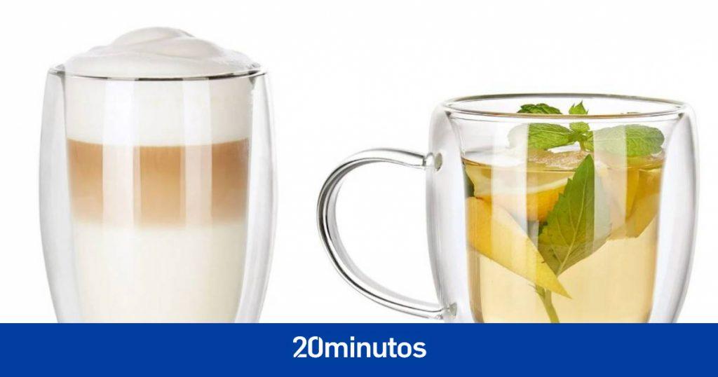 Lidl vende vasos que mantienen la temperatura de las bebidas