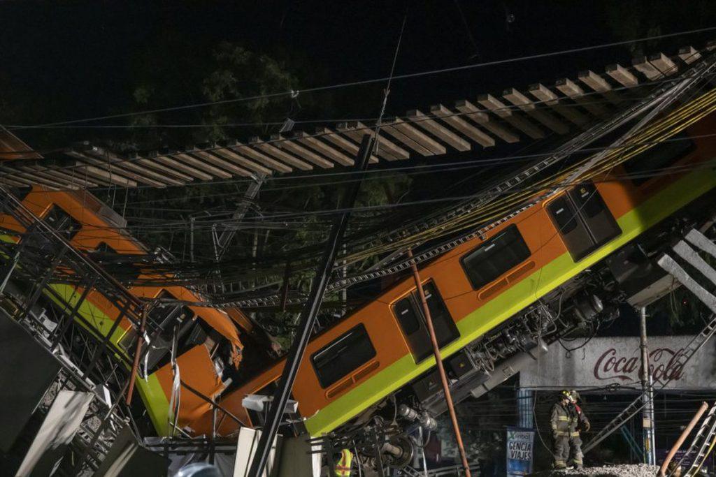 """Línea 12: Sheinbaum anuncia la opinión de un experto externo sobre la caída del metro y Ebrard se pone """"a disposición de las autoridades"""""""
