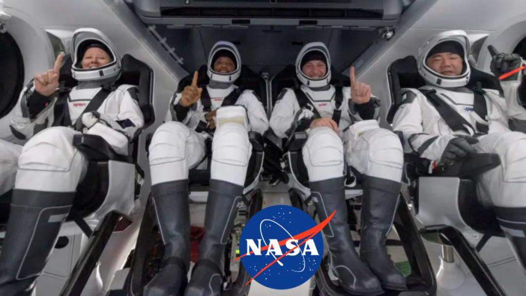 Los astronautas de la tripulación 1 regresan a casa después de más de cinco meses en la Estación Espacial Internacional