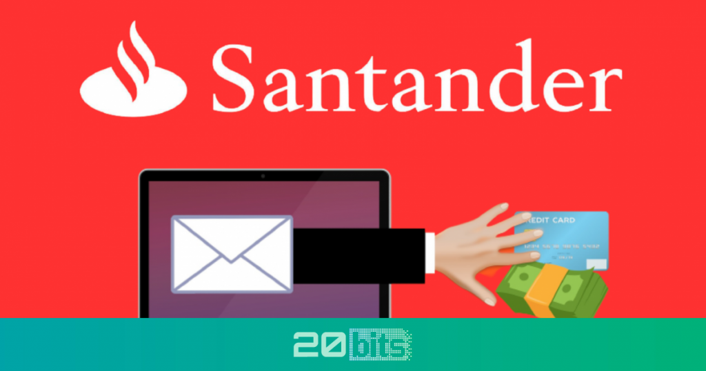 Los ciberdelincuentes ahora se hacen pasar por Banco Santander para robar su dinero