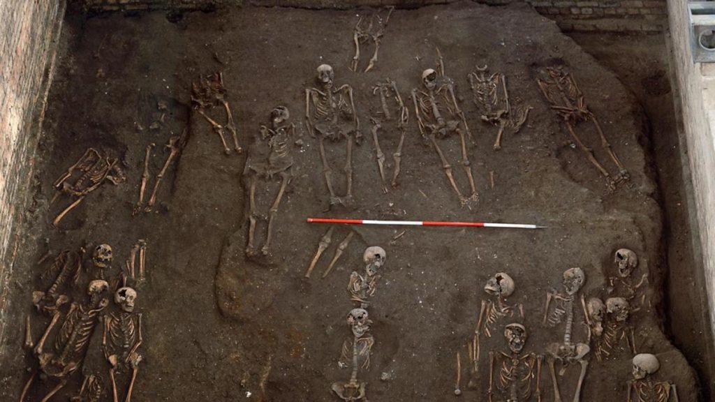 Los esqueletos medievales pueden ocultar una tasa de cáncer más alta de lo esperado