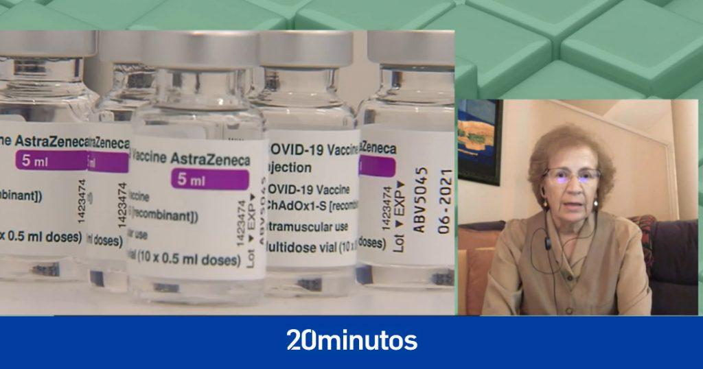 Margarita del Val habla enfáticamente sobre la segunda dosis de AstraZeneca