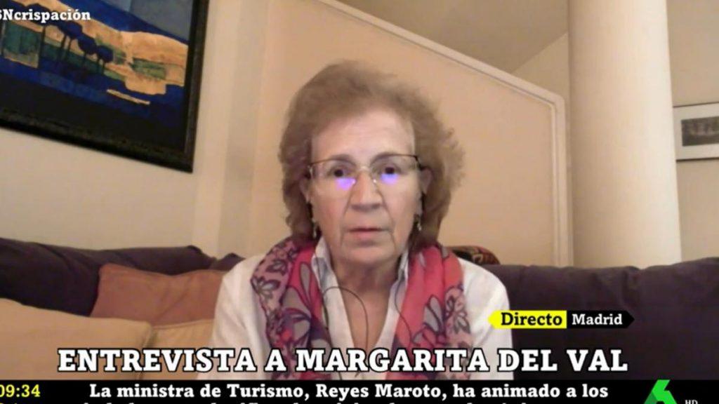 """Margarita del Val, preocupada por la capacidad de contagio de los vacunados: """"Habrá algo de miedo"""""""