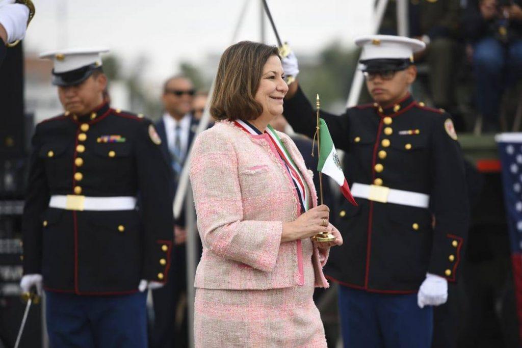 """Martha Bárcena: Embajadora de México en Estados Unidos anuncia que se jubilará """"en los próximos meses"""""""