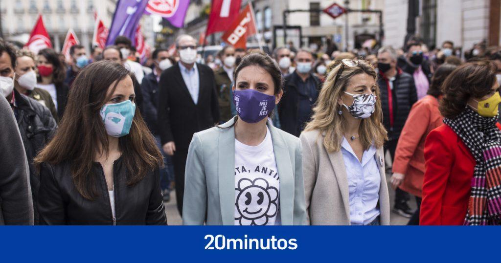 """Montero, Belarra y Díaz exigen que el derecho al aborto se ejerza de manera """"segura, pública y gratuita"""" en todas las comunidades"""