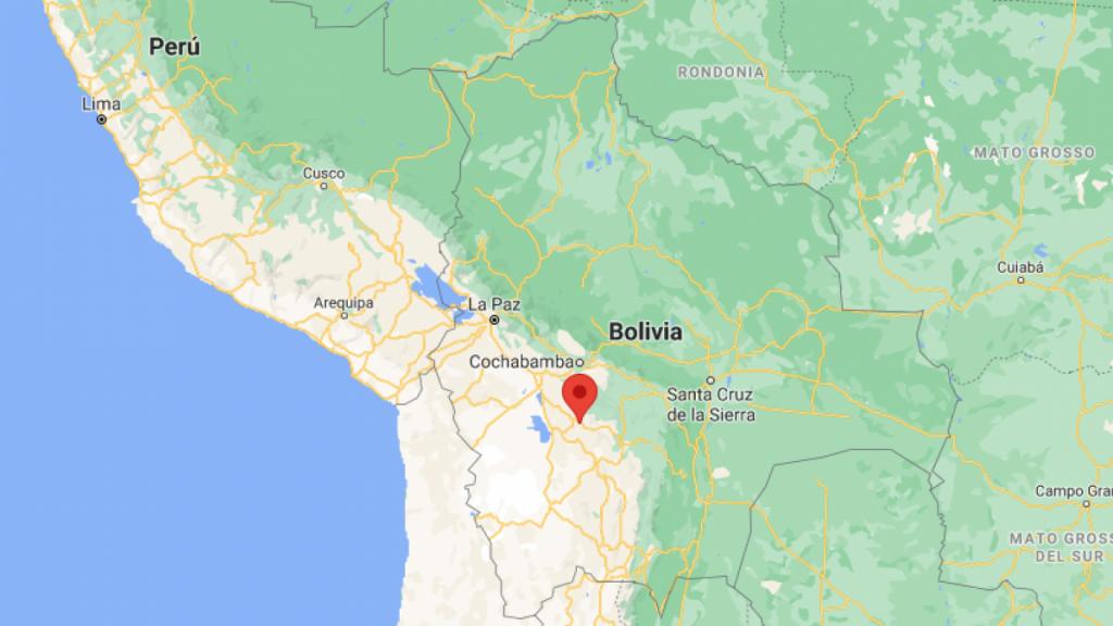 Multitud de más de 200 quemados hombre acusado de robar vehículo en Bolivia
