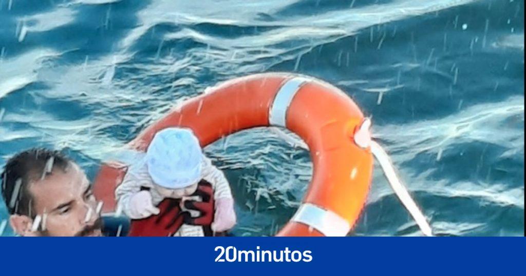 """""""No tenía nada para comer, no tuve más remedio que lanzarme al mar"""""""