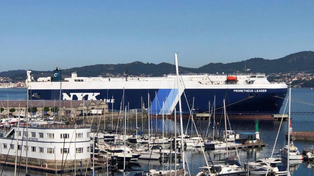 Nuevo buque en cuarentena en el puerto de Vigo por brote a bordo con ocho casos de coronavirus