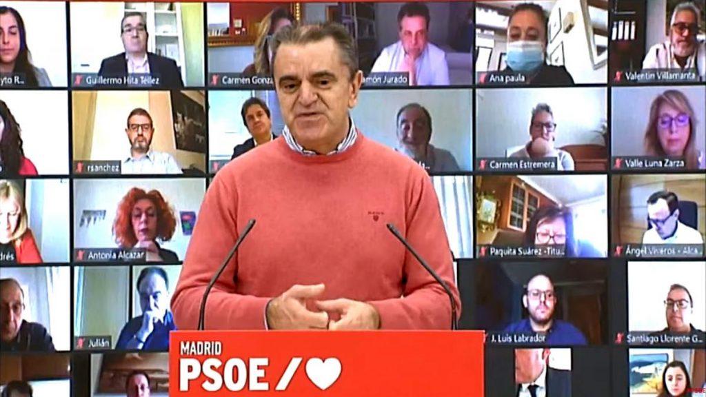 Primera víctima de la debacle socialista en Madrid: José Manuel Franco dimite de su cargo de secretario general